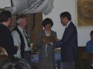 Überreichung des JAIG-Preises 1999 an Mieko (DD5KJ) und Bertin (DJ9WH)