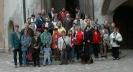 Gruppenbild vor dem alten Rathaus