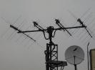 Antennen der Sat-Kontrollstation