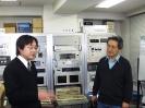 DF2CW vor dem Satelliten-Kontrollpult